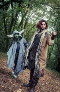 Caleb Widogast and Editing by Copperspoon @copperspoon_ (Instagram)    Nott the Brave by Chibipiyo @chibipiyo3 (Instagram)    Photography by Captain Helper (Instagram)