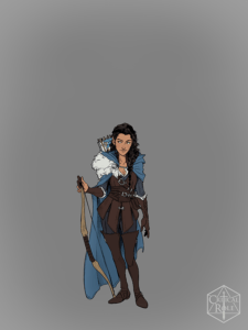 Vex'ahlia from Vox Machina Origins Series III (Art by Olivia Samson)