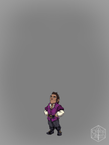 Scanlan from Vox Machina Origins Series III (Art by Olivia Samson)