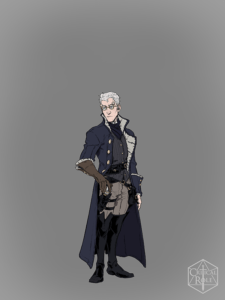 Percy from Vox Machina Origins Series III (Art by Olivia Samson)