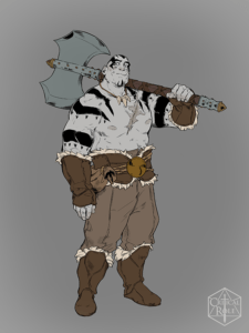 Grog from Vox Machina Origins Series III (Art by Olivia Samson)