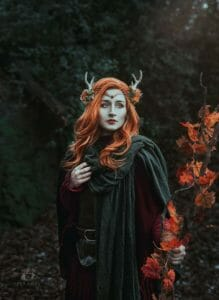 Keyleth Cosplay, Hair, Props, Costume by @ravenmagecosplay (Instagram) || Photography and Edit by @zenchanphotography (Instagram)